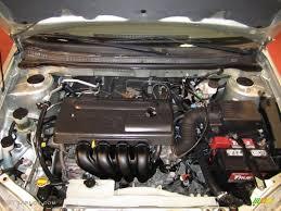 2004 Toyota Corolla CE 1.8 Liter DOHC 16-Valve VVT-i 4 Cylinder ...