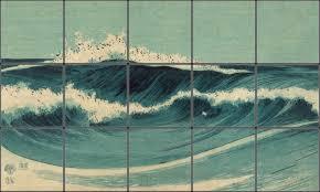 ceramic tiles art ocean. Fine Ceramic Ocean Waves To Ceramic Tiles Art