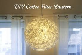 diy lighting. She Has Another Wonderful, Easy To Follow Tutorial For This Light, Made With Coffee Filters. You Can Find The Directions Here Diy Lighting