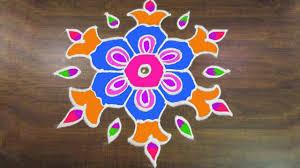 Sankranthi Designs With Dots 289 Sankranthi Muggulu 9 To 5 Interlaced Dots Easy