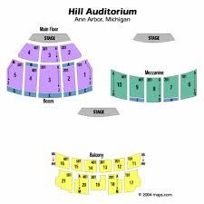 Hill Auditorium Seating Chart Hill Auditorium Ann Arbor