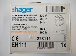 hager eh111 24hrs time timer switch (end 1 21 2020 10 15 pm) Wiring Diagram Symbols at Hager Eh 111 Wiring Diagram