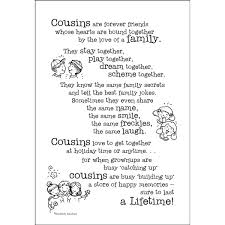 Cousin Love Quotes Impressive Quotes About Being Cousins On QuotesTopics