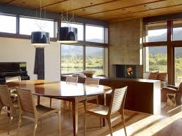 Inside Of Dream Houses Dining Room - Rustic modern dining room ideas