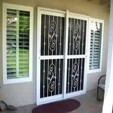 sliding patio security doors sliding glass door burglar bars surprising for doors surprise patio security home