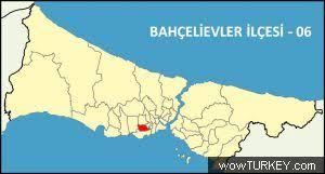 Image result for bahçelievler istanbul haritası