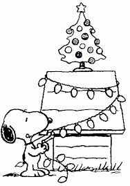 Small Picture Snoopy And Woodstock Christmas Coloring Pages Coloring Home
