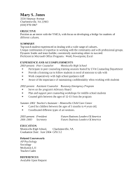 Entry Level & Freshers Guidance Counselor Resume