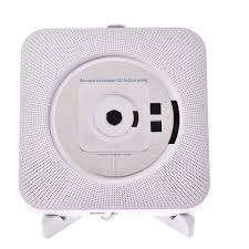 2 of 12 portable cd player wall mountable bluetooth boombox home audio w remote control 3 of 12