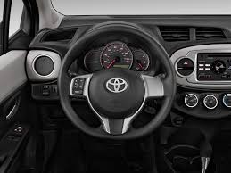 2013 Toyota Yaris Steering Wheel Interior Photo | Automotive.com