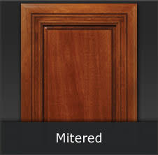 cabinet doors. Mitered Raised And Flat Panel Cabinet Doors Use A 45 Degree Joint  Construction Cabinet Doors