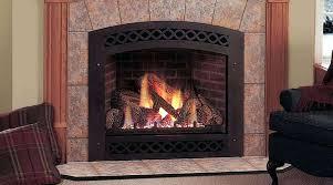 corner vent free propane gas fireplace logs compressed ventless