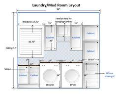 Laundry Room Layout Design