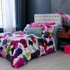 image of watercolor bedding design ideas