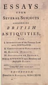 feudal law open library essays upon several subjects concerning british antiquities by henry home lord kames