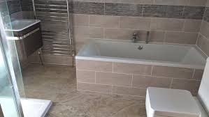 rdm plumbing services complete bathroom project we removed the old suite wall tiles and flooring we then first fixed new pipe work for shower bath