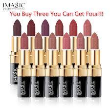 IMAGIC <b>12 color sexy</b> women lip <b>makeup</b> matte velvet longlasting ...