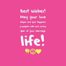 Wedding Wishes Quotes Simple The 48 Romantic Wedding Wishes WishesGreeting