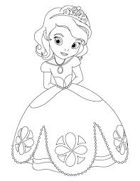 Disegni Da Colorare Per Bambini Principesse Disney Fredrotgans