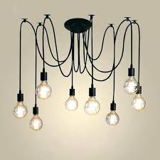 chandelier with edison bulbs bulb chandelier bulbs chandelier retro lamp chandelier lighting spider shape loft style chandelier with edison bulbs