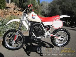 yamaha 80cc dirt bike. 1987 yamaha yz 80 | vintage motocross dirt bike 80cc
