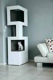 cat furniture modern. Modern Cat Design Furniture Tree Tower The One White R