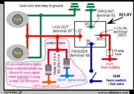 dual horn relay wiring harness installation redux dual horn relay wiring harness installation redux hornrelay jpg