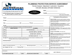 Plumbing Service Invoices Plumbing Service Invoices free printable invoice 1
