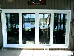 patio door installation cost installing a sliding