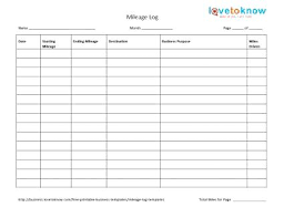 Excel Driver Log Sheet Template Trip Sheet Template Driver Sample Soulective Co