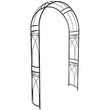 tidyard decorative arbor arch metal