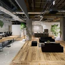 office define. Multi-levelled Surfaces Of Concrete, Wood And White Gravel Define The Different Working Areas Within This Open-plan Tokyo Office By Torafu Architec\u2026