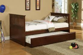 Extraordinary Image Of Teen Bedroom Design And Decoration Using Solid  Cherry Wood Trundle Bed Frame Along With Ikea Trundle Bed Mattress And  Light Cream ...
