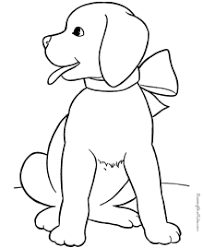 While your child is busy by coloring drawings you can do your errands. Puppy Coloring Pages Free And Printable