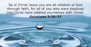 16 Bible Verses about Baptism - DailyVerses.net