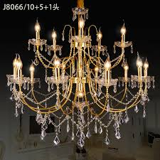 lovable gold crystal chandelier whole gold crystal chandeliers from china gold