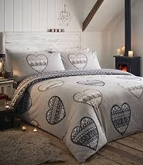 kimberley white designer double bedding