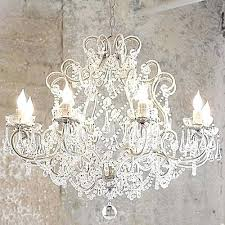 white shabby chic chandelier want a shabby chic chandelier scour thrift s a can of spray paint small white shabby chic chandelier