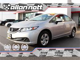 Vehicle details - 2015 Honda Civic Lima - Allan Nott Toyota