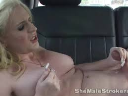 Shemale handjob sperm movies