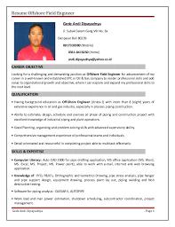 Resume Offshore Field Engineer Gede Andi Dipayadnya Jl. Subak Dalem Gang  VIII No.
