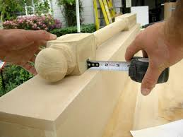 Build Newel Post How To Build A New Fireplace Surround And Mantel Hgtv