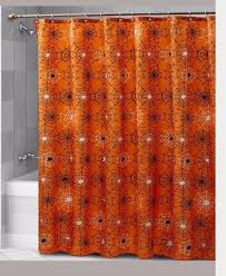 glow in the dark spider web shower curtain new cool glow shower curtain