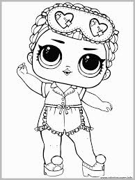 Coloring Pages For Kids Lol Dolls With Lol Surprise Dolls Coloring