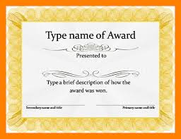 Free Certificate Templates For Word 8 Awards Certificates Templates Word World Wide Herald