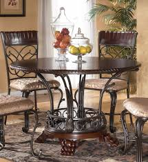 round dining room table images. dining room table sets with bench | ashley cherry round images e