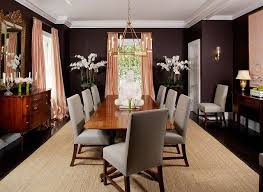 this dining room follows the basic rules very few colors soft fabrics elegant furniture this is luxury interior design