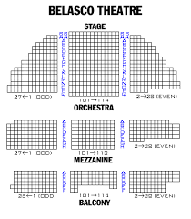 Brooks Atkinson Theatre Seating Chart Broadway London And Off Broadway Seating Charts And Plans