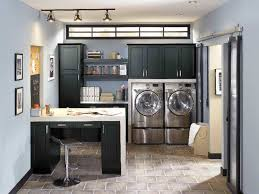Washer And Dryer In Kitchen Over The Washer Shelving Top Preferred Home Design