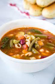 olive garden minestrone soup recipe